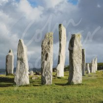 Calanais Standing Stones, Lewis 2 Greetings Card (CB)
