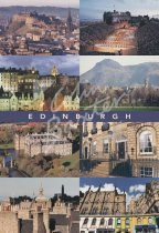 Edinburgh City Comp, Edinburgh Postcard (V Std CB)
