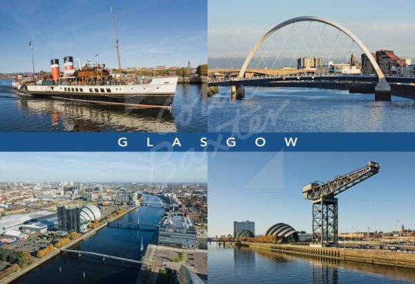 City of Glasgow Comp, Glasgow Postcard (H Std CB)