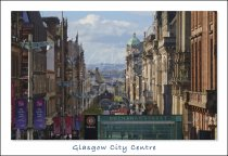 Buchanan Street, City Centre, Glasgow Postcard (H Std CB)