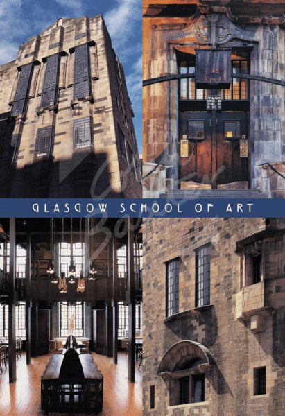 Glasgow School of Art (CRM) Comp, Glasgow Postcard (V Std CB)