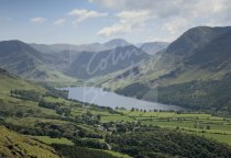 Buttermere from Low Bank, Lake District Postcard (H Std CB)