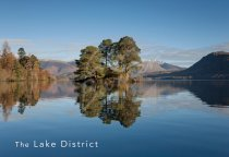 Derwent Water & Blencathra, Lake District Postcard (H Std CB)