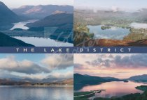 Lakes & Fells Comp 1, Lake District Postcard (H Std CB)