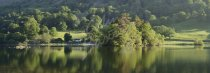Rydal Water & Nab Cottage, Lake District Postcard (H Pan CB)