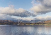 Windermere with Crinkle Crags, Lake District Postcard (H Std CB)