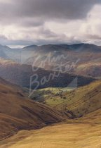 Hayeswater Gill, Hartsop & Helvellyn, Lake District Postcard (V