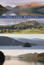 Lakeland - Panorama Comp, Lake District Postcard (V Std CB)