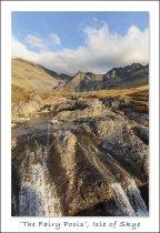 Fairy Pools, Isle of Skye Postcard (H Std CB)