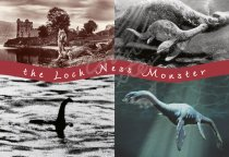 Loch Ness Monster Comp Postcard (H Std CB)