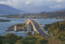 Skye Bridge Postcard (H Std CB)