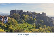 Edinburgh Castle, Edinburgh 3 Postcard (H Std CB)