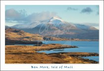 Ben More & Loch Tuath, Isle of Mull Postcard (H Std CB)