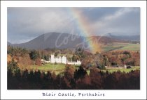 Blair Castle, Perthshire (Rainbow) Postcard (H Std CB)