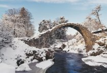 Carrbridge, Strathspey Postcard (H Std CB)