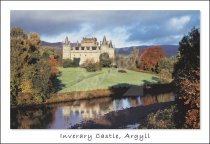 Inveraray Castle, Argyll Postcard (H Std CB)