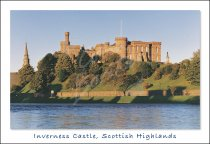 Inverness Castle Postcard (H Std CB)