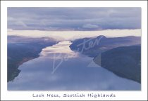 Loch Ness From Air Postcard (H Std CB)