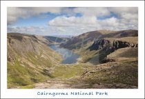 Loch Avon, Cairngorms National Park Postcard (H Std CB)