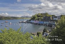 Portree Harbour, Isle of Skye 2 Postcard (H Std CB)