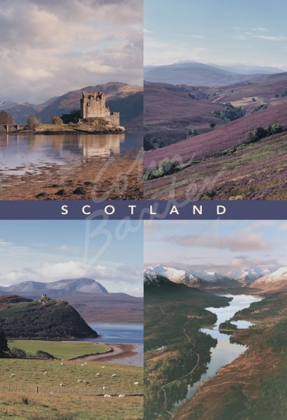 Portraits of Scotland Comp 2 Postcard (V Std CB)