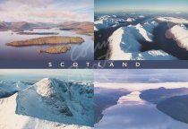 Scotland from Air Comp Postcard (H Std CB)