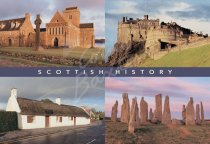 Scottish History Comp Postcard (H Std CB)