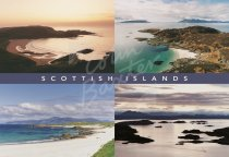 Scottish Islands Comp Postcard (H Std CB)