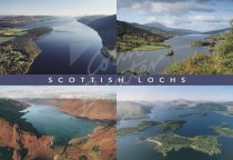Scottish Lochs Comp Postcard (H Std CB)
