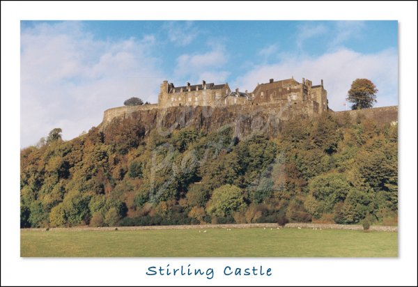 Stirling Castle Postcard (H Std CB)