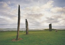 Stones of Stenness, Mainland, Orkney Postcard (H Std CB)