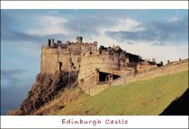 Edinburgh Castle, Edinburgh 2 Postcard (H Std CB)