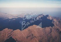 Cuillin Ridge, Loch Coruisk From Air Postcard (H Std CB)