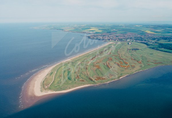 St Andrews Golf Course, Fife From Air Postcard (H Std CB)