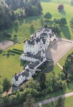 Blair Castle, Perthshire From Air Postcard (V Std CB)
