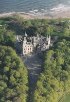 Dunrobin Castle, near Golspie, Sutherland From Air Postcard (V S