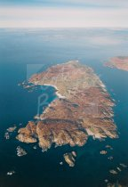Iona - from south From Air Postcard (V Std CB)