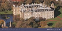 Palace of Holyroodhouse, Edinburgh Postcard (H Vis CB)
