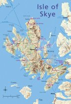 Map of Isle of Skye Postcard (V Std CB)
