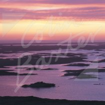 Loch Druidibeag, South Uist Greetings Card (CB)