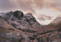 Three Sisters, Glencoe Postcard (H Std CB)