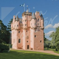 Craigievar Castle, Aberdeenshire Greetings Card (CB)