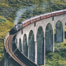 Glenfinnan Viaduct Greetings Card (CB)