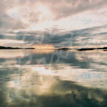 Loch Maddy, North Uist Greetings Card (CB)