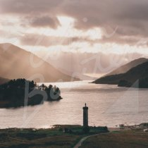 Glenfinnan Monument, West Highland Greetings Card (CB)