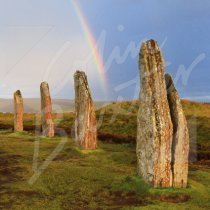 Ring of Brodgar, Orkney Greetings Card (CB)