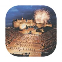 Edinburgh Castle & Military Tattoo Coaster
