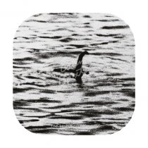 Loch Ness Monster Surgeon's Photo Coaster