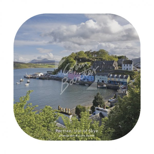 Portree, Isle of Skye Coaster
