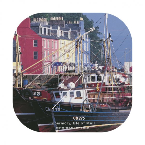 Tobermory Harbour, Isle of Mull Coaster